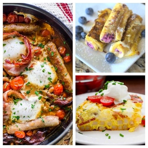 28 Delicious Weekend Breakfast Recipes- If you want something tasty for your next lazy weekend morning, you have to try these delicious weekend breakfast recipes! | #breakfast #breakfastRecipes #brunch #brunchRecipes #ACultivatedNest