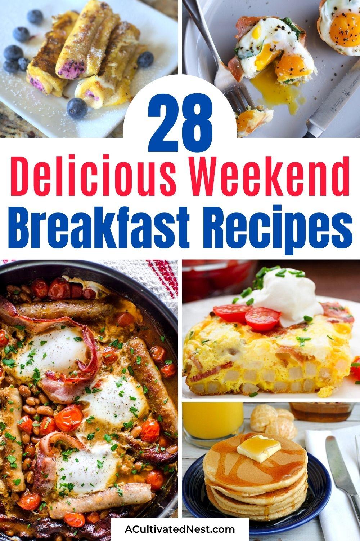 28 Delicious Weekend Breakfast Recipes