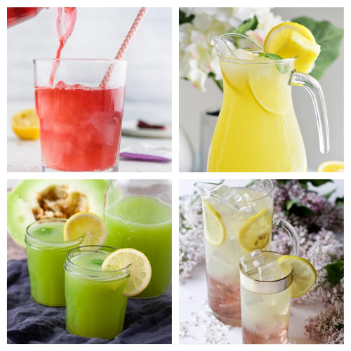 20 Delicious Homemade Lemonades for Summer- Quench your thirst with these delicious homemade lemonade recipes! They are easy to make and are the perfect treat on a hot day! | how to make lemonade from scratch, #recipe #drinkRecipe #lemonade #summerDrinks #ACultivatedNest