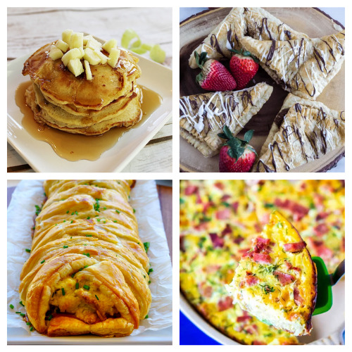 20 Delicious Mother's Day Breakfast Recipes- These 20 delicious Mother's Day brunch recipes are just what you need to make mom feel loved! They are so easy to make, too! | #mothersDay #brunch #breakfast #brunchRecipes #ACultivatedNest