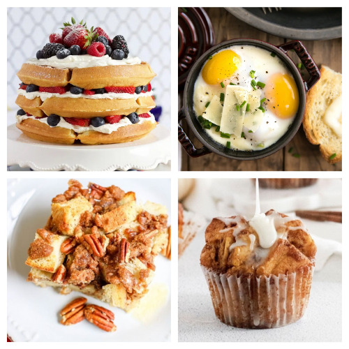 20 Delicious Breakfasts for Mother's Day- These 20 delicious Mother's Day brunch recipes are just what you need to make mom feel loved! They are so easy to make, too! | #mothersDay #brunch #breakfast #brunchRecipes #ACultivatedNest