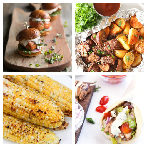20 Delicious Summer Grill Recipes- You will be drooling when you taste these 20 delicious grilling recipes! They are perfect for all your summer parties and get-togethers! | #grilling #grillRecipes #recipes #summerRecipes #ACultivatedNest
