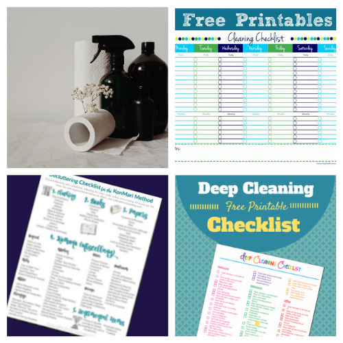 20 Summer Cleaning and Decluttering Schedule Free Printables- Summer is the perfect time for cleaning, and these summer cleaning and decluttering checklists will have your home tidy in no time! Many are also free printables, for even easier use! | #freePrintables #cleaningChecklist #declutteringChecklist #cleaningSchedule #ACultivatedNest