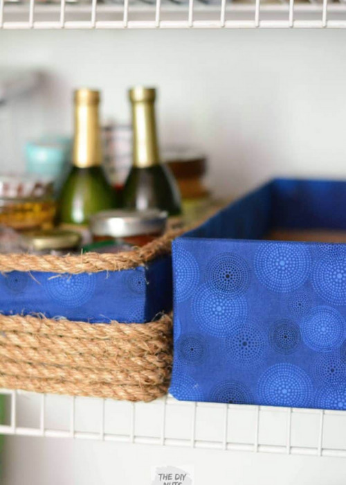 10 Clever Ways to Upcycle Boxes for Storage- If you need to get your home organized, save money and check out these clever ways to upcycle boxes for storage!   #organizingTips #homeOrganization #diyOrganizers #diyOrganization #ACultivatedNest
