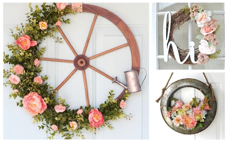 20 Beautiful DIY Summer Wreaths