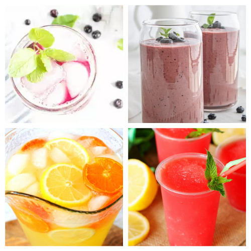 20 Homemade Fruit Drink Recipes- Sip on these 20 homemade fruit drink recipes this summer! They will cool you off and refresh you even on the hottest days! | drinks made with real fruit, summer drinks, #fruitDrinks #drinkRecipes #nonalcoholicDrinks #recipes #ACultivatedNest