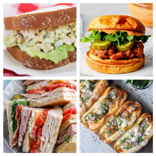 20 Mouthwatering Homemade Sandwiches- These 20 sandwich recipes will have your mouth watering! They are quick and easy to make, plus, they're perfect for all occasions!   #sandwich #sandwichRecipes #lunchRecipes #recipes #ACultivatedNest