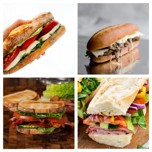 20 Mouthwatering Sandwiches for Lunch- These 20 sandwich recipes will have your mouth watering! They are quick and easy to make, plus, they're perfect for all occasions!   #sandwich #sandwichRecipes #lunchRecipes #recipes #ACultivatedNest