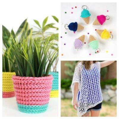 12 Free Summer Crochet Patterns