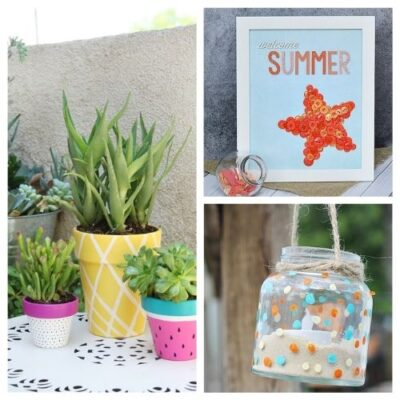 20 Fun Summer Crafts