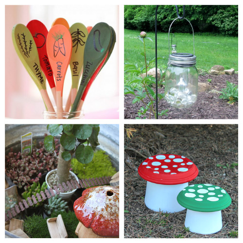 20 Brilliant Dollar Store Garden DIYs- We have compiled 20 brilliant dollar store garden DIYs that you can do this weekend! They are simple and add some fun to your garden!   #dollarStoreCrafts #craft #gardenDIY #gardening #ACultivatedNest