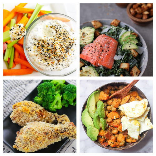 20 Recipes That Use Everything Bagel Seasoning- These tasty everything bagel seasoning recipes will have you smacking your lips! They are so flavorful, and easy to make, too!   #recipes #everythingBagelSeasoning #recipeIdeas #appetizerRecipes #ACultivatedNest