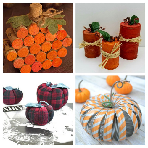 12 Creative Fall Upcycling Projects- These creative fall upcycle projects use up materials you would normally throw away. They're a creative way to add charm to any space! | fall decorating on a budget, repurposing, repurposed DIY décor, recycled décor, #fallDIY #diyProjects #fallDecor #upcycle #ACultivatedNest