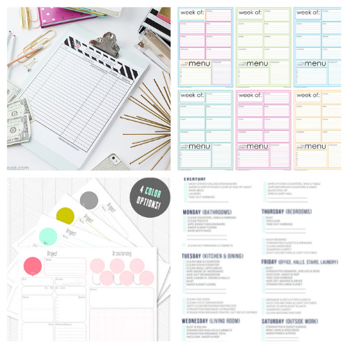 20 Helpful Homemaking Binder Free Printables- These 20 helpful free homemaking printables are just what you need to keep your home and life in order. They're easy to follow and so useful! | budgeting, meal planning, cleaning tips, home binder printable pages, mom binder printables #freePrintables #printable #homemaking #housekeeping #ACultivatedNest