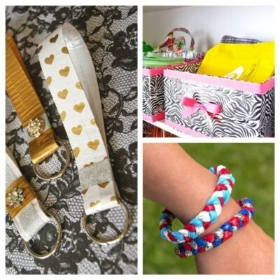 16 Creative Duct Tape Crafts