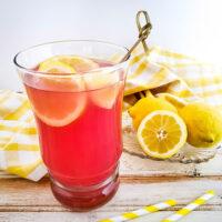 Easy Homemade Lavender Lemonade