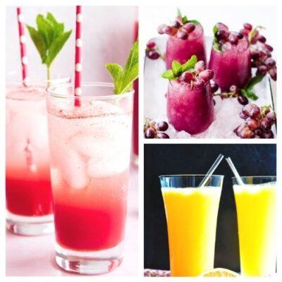 20 Homemade Fruit Drink Recipes