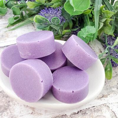 Easy Lavender Almond Sugar Scrub Bars