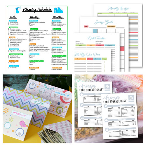 20 Helpful Homemaking Free Printables- These 20 helpful free homemaking printables are just what you need to keep your home and life in order. They're easy to follow and so useful! | budgeting, meal planning, cleaning tips, home binder printable pages, mom binder printables #freePrintables #printable #homemaking #housekeeping #ACultivatedNest