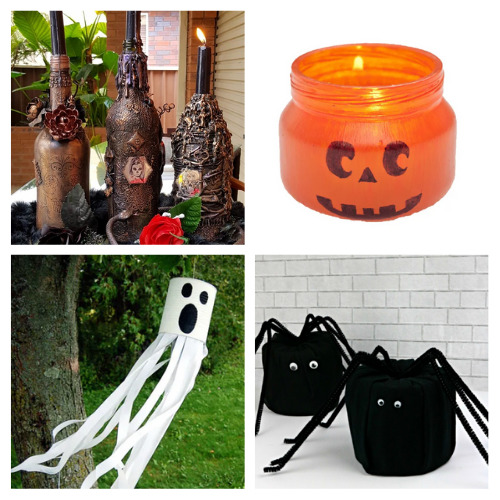 20 Budget-Friendly Halloween DIY Decorations- Get your home ready for Halloween on a budget with these fun and frugal Halloween DIY decorations! There is so much fun décor you can make! | #Halloween #DIY #diyProjects #HalloweenDecor #ACultivatedNest