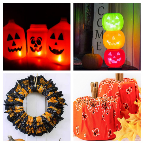 20 DIY Outdoor Halloween Décor Ideas- Decorate your yard for Halloween on a budget with these 20 DIY outdoor Halloween decorations! There are so many spooky and fun ideas! | #Halloween #HalloweenDIY #HalloweenDecorations #DIY #ACultivatedNest