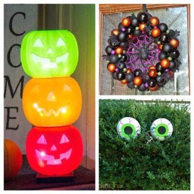20 DIY Outdoor Halloween Decorations