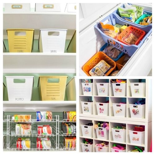 12 Clever Ways to Organize Your Home with Bins- An easy way to get your home organized on a budget is to use bins! Check out these 12 ways to organize your home with bins for some great inspiration!   #binOrganization #organizingTips #homeOrganizing #organize #ACultivatedNest