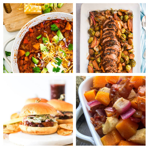 20 Delicious Dinner Recipes for Fall- You won't have to worry about what to serve for dinner this fall with this list of delicious fall dinner recipes to try! | #fallRecipes #recipes #fallFood #dinnerRecipes #ACultivatedNest