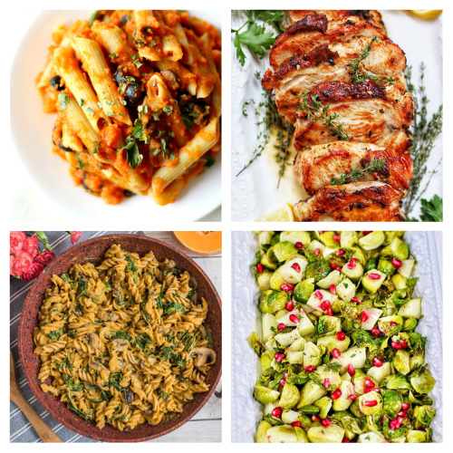 20 Delicious Dinner Recipes for Autumn- You won't have to worry about what to serve for dinner this fall with this list of delicious fall dinner recipes to try! | #fallRecipes #recipes #fallFood #dinnerRecipes #ACultivatedNest