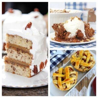 20 Delicious Thanksgiving Dessert Recipes